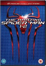 The Amazing Spiderman Part 1 and 2 DVD Emma Stone New Sealed Original UK R2