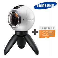 Samsung Gear 360 degree Cam Spherical Camera SM-C200 + Micro SD 32GB Free FedEx