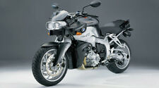 "Silver BMW K1200R Motorcycle - 42"" x 24"" LARGE WALL POSTER PRINT NEW."