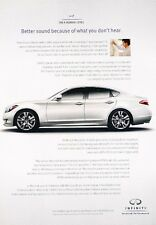 2010 Infiniti M45 Original Advertisement Car Print Ad J525
