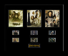 The Lord of the Rings Trilogy - Framed 35mm Mounted Film Cells movie memorabilia
