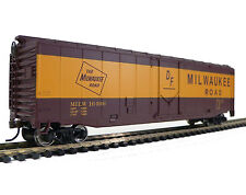 Free Shipping!* HO Scale Model Railroad Trains Milwaukee Road Boxcar 931-1405