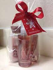 NWT Bath and Body Works Warm Vanilla Sugar Gift Set (Travel-essentials)