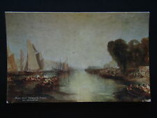 ROYAL YACHT SQUADRON COWES WEEK REGATTA J M W TURNER 1827 TUCK #2774 POSTCARD