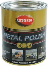 Autosol Solvol Chrome Metal Aluminium Cleaner Polish 750ml Tin - Original & Best