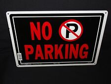 No Parking, Fence / Wall Metal Sign