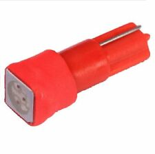 Rote T5 w1.2w LED SMD Tacho Instrumenten Beleuchtung Motorrad Lampe rot