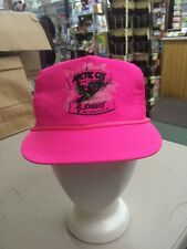 trucker hat baseball cap Arctic Cat rv sports thief river falls hot pink retro