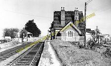 Milcote Railway Station Photo. Stratford-on-Avon- Long Marston. (2)