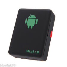 Global Locator Mini Real Time Car Kids A8 GSM/GPRS/GPS Tracker Tracking Device !