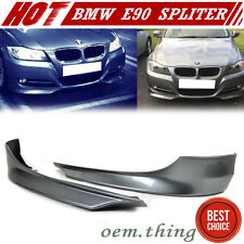Painted BMW E90 3-Series LCI Facelift OE Type Front Splitter Lip Bumper #A52