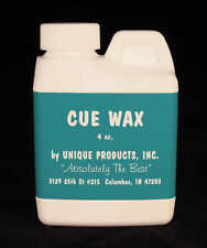 Cue Shaft Wax - 4oz. - Cue Repair - Best in the Business!