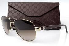 Gucci GG 4239 S GG4239/S Sunglasses Frames Gold Brown DYZHA Authentic 58mm