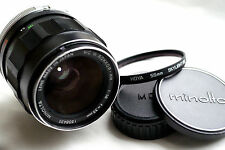 MINOLTA MC W.ROKKOR-HH 35mm f1.8  for mirrorless cameras  JAPAN  GREAT