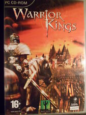 Warrior Kings Nuevo precintado PC Estrategia rol Textos en castellano in english