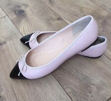 New JCREW Gemma Cap Toe Flats G0878 $118 Pale Petal Pink 6.5 CURRENT!
