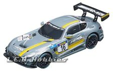 "Carrera GO!!! Mercedes-AMG GT3 ""No.16"" 1/43 analog slot car 64061"