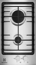 Domino Stainless Steel 2 Burner Gas Hob ELECTROLUX EGG3322NOX * NEW BOXED *