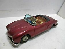1960 VOLKSWAGEN KARMANN GHIA CONVERTIBLE FRICTION MADE IN JAPAN BY BANDAI