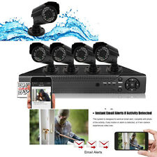 8CH 960H HDMI DVR IR-CUT 800TVL Outdoor CCTV Home Security Video Camera System