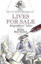 Lives for Sale: Biographers' Tales, Bloomsbury 2004 Hardback Book. 0826475736