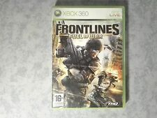 FRONTLINES FUEL OF WAR SHOOTER FPS - MICROSOFT XBOX 360 PAL ITALIANO COME NUOVO