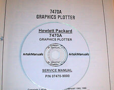 HP 7470A  Graphics Plotter Service Manual