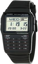 Casio DBC32-1A 25 Page Databank Watch Calculator Illuminator Resin BRAND NEW