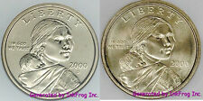 2000 P & D Sacagawea Dollars Gem Bu Set from mint sets No Reserve