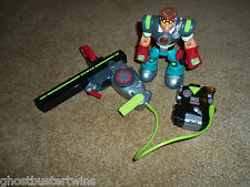 HTF FISHER PRICE RESCUE HEROES POWER MAX PHYSICIAN EMT MEDIC PATROL FIGURE LOT