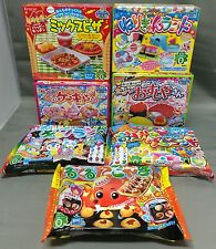 7pcs Kracie DIY making kit Happy Kitchen popin cookin Japanese candy Japan food