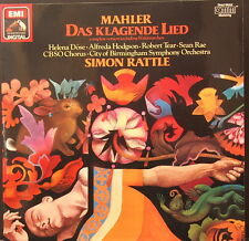 EMI HMV 27 013  DIGITAL MAHLER DAS KLAGENDE LIED RATTLE DOSE GERMAN 1ST PRESS