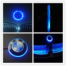 1 Pcs Blue 12V 82mm Emblem LED Background Light For BMW 3 5 7 X3 X5 X6 Z4 Series