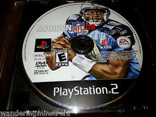 Madden NFL 08 (PS2), PlayStation2 Video Game Tested Good! Game disc only