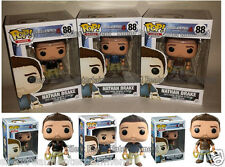 Uncharted 4 A Thief's End Nathan Drake Complete Set of ALL 3 Funko Pops!