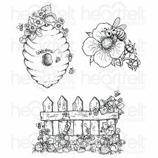 Heartfelt Creations: Sweet as Honey Cling Stamp Set (HCPC-3735)