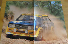 FIAT ABARTH RALLY 131 (1976) - POSTER