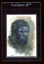 2012 Viceroy Cryptids Sketch Card - Charles Hall Bigfoot