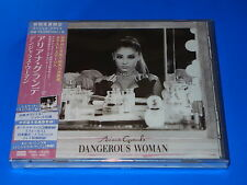 2016 w/JAPAN ONLY BONUS TRACK ARIANA GRANDE DANGEROUS WOMAN CD TOTAL 18 TRACKS