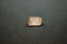 CANON 5D mark III FRONT NAME INDICATOR Plate Name  COVER OEMcb3-7862-000