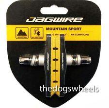 Jagwire V-Brake Brake Pads Blocks MTB Bicycle Bike V Brake Brakes Yellow