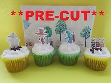 in the night garden X24 edible stand up cup cake toppers, wafer paper *pre-cut*