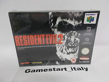 RESIDENT EVIL 2 - NINTENDO 64 N64 - NEW SEALED VERY RARE - CAPCOM - PAL VERSION