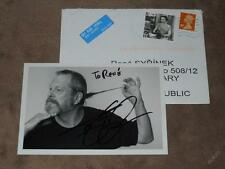 Terry GILLIAM /Monty Python/ - original autogramm, Foto 10x15 cm + cover