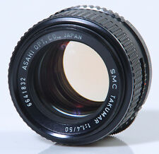 OBJECTIF M42 : SMC TAKUMAR 1,4/50mm PENTAX M42 !!! MADE IN JAPAN