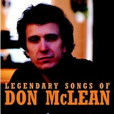 Legendary Songs Of Don Mclean - Don Mclean (2003, CD NIEUW)