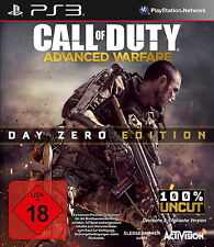 Sony PS3 Advanced Warfare USK18 Call of Duty CoD Shooter Kult Spiel AW1 Cinema