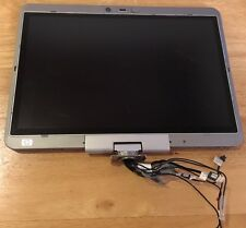 HP Elitebook 2730p OEM Complete Matte LCD Screen Assembly 12 1 w HINGES + Screws