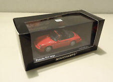 Porsche 911 Targa Typ 964 1991 indian red Minichamps 1:43