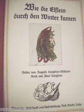 4 Bilderbuch Mährlen Langbein Wie die Elflein durch den Winter kamen Mit Bildern